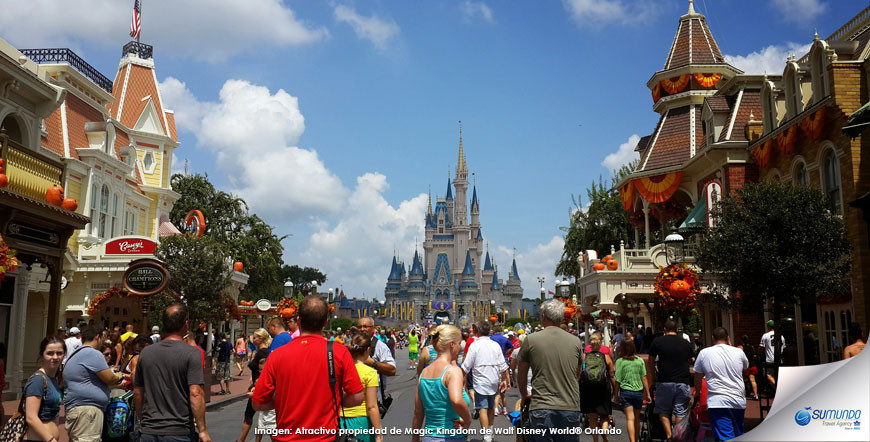 Magic Kingdom y Universal
